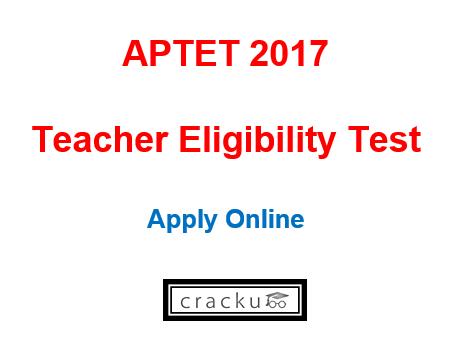 Aptet Application Form 2017 Apply Online Latest Govt Jobs 2018
